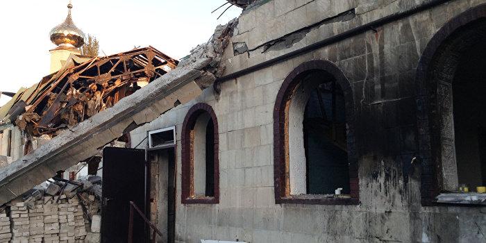 Украинские военные похитили монаха из православного монастыря Донбасса