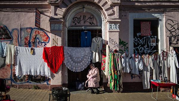 Киев погружается в хаос девяностых