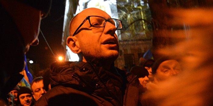 СМИ: Яценюк - опасный для Европы человек, не заслуживающий уважения