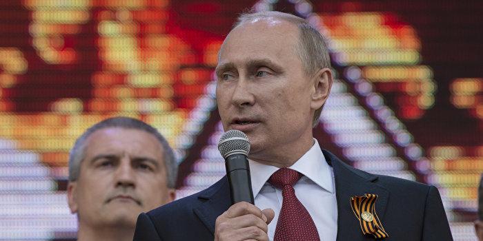 Путин: Мы не могли бросить крымчан под «каток националистов»