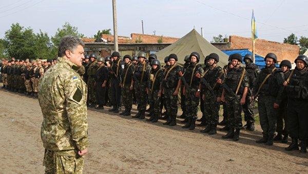 Порошенко одобрил ввод иностранных войск на Украину