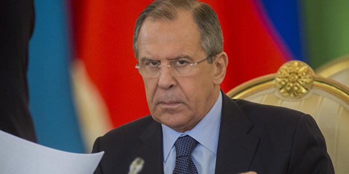 Лавров предложил ЕС ввести санкции против Украины