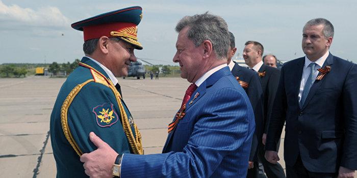 Сергей Шойгу в Крыму проверил боеготовность флота