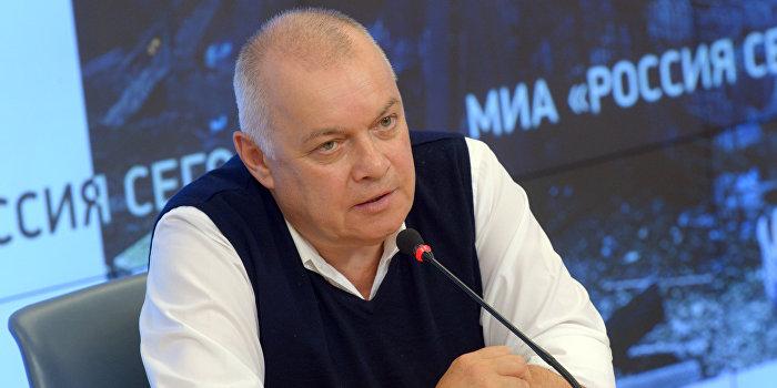 Киселев: Планы Яценюка направить фильм про Крым в Гаагу вызывают сочувствие
