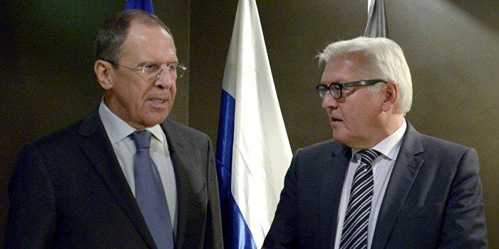 Лавров и Штайнмайер призвали к прекращению блокады Донбасса