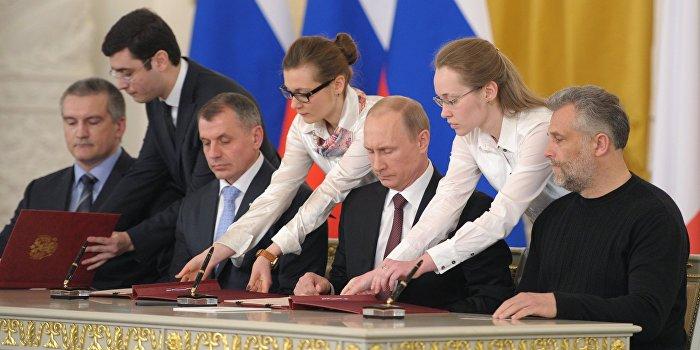 Исполнился год крымскому чуду