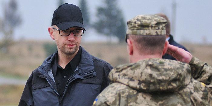 Яценюк потребовал привести вооруженные силы Украины в полную боеготовность