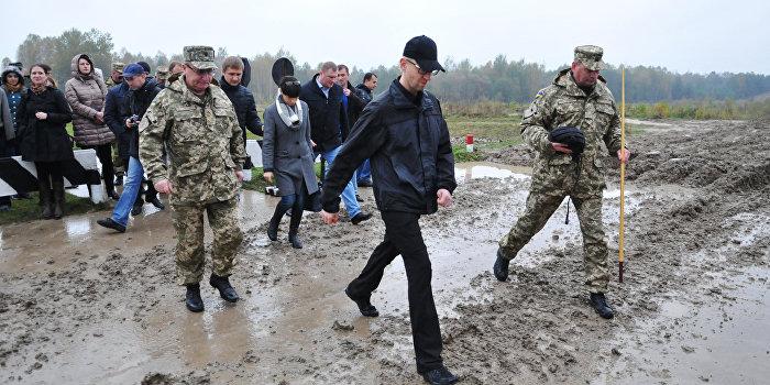 Кабмин выделит 865 млн гривен на строительство укрепрайонов в Донбассе
