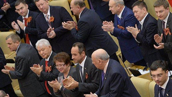 Госдума приняла закон о включении Севастополя и Крыма в состав РФ