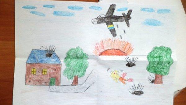 Луганские дети пишут о войне: Такому не место в мире…