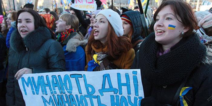 Киевлянка, требовавшая на майдане «кружевные трусики и ЕС», ищет работу в России