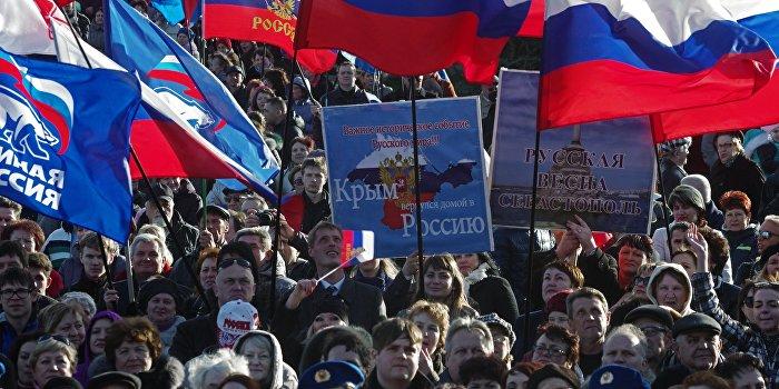 Украинский политик: Крым не должен жить лучше Украины!