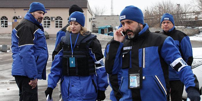 ОБСЕ: Украинские силовики обстреляли село Широкино