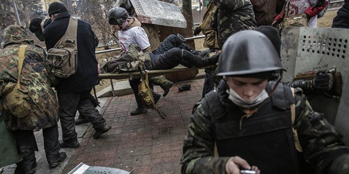 В митингующих на майдане стреляли из гостиницы «Украина» - отчет СЕ