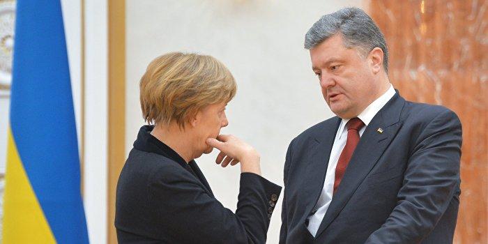 Меркель и Порошенко готовят встречу «нормандской четверки»