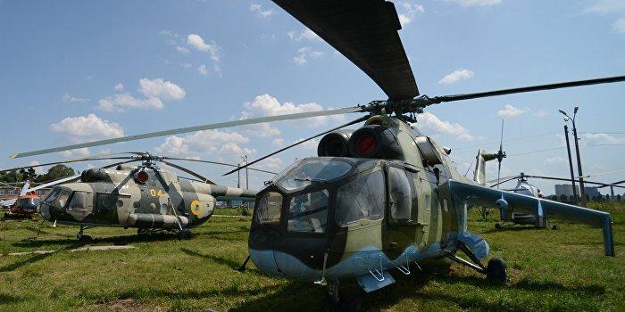 Нацгвардия продала два боевых вертолета как гражданские