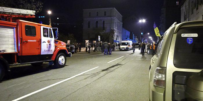 В Харькове взрывом уничтожено четыре автомобиля