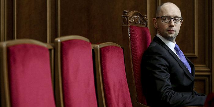 Рада требует отставки Яценюка и чистки состава Кабмина