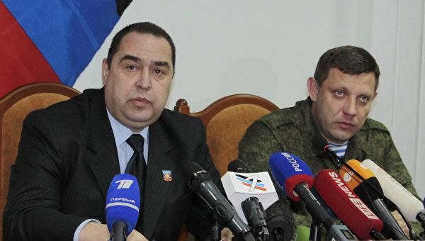 Главы ДНР и ЛНР призвали Меркель и Олланда оказать влияние на Киев