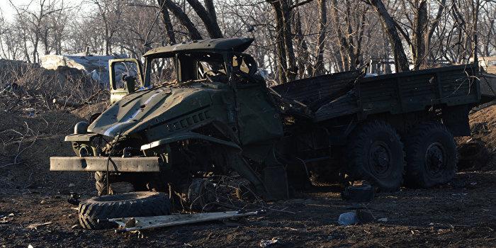 В результате двух взрывов в зоне «АТО» погибло шесть украинских военнослужащих