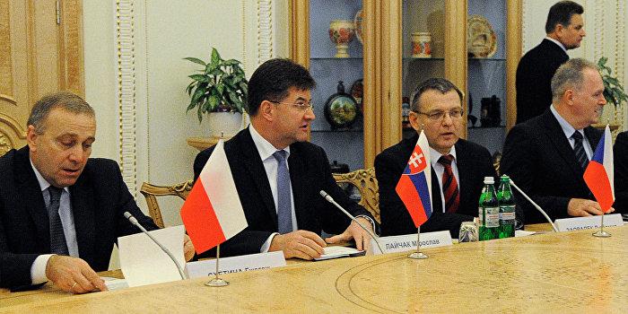 «Вышеградская четверка» окажет финансовую помощь Украине