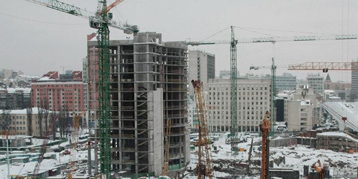УПЦ КП на выделенной под церковь земле строит жилой комплекс