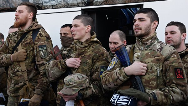 На Украине презентовали «костюм-невидимку» для силовиков