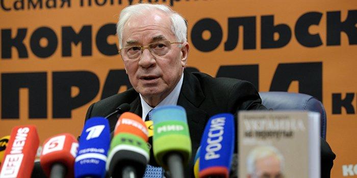СБУ обвиняет Азарова в финансировании «провокаций»