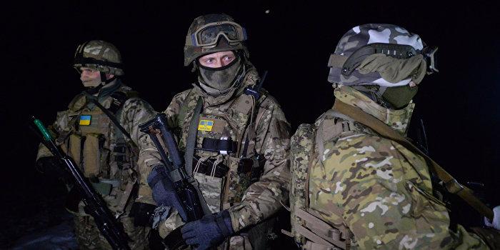 В Песках произошло противостояние украинских военных и батальона «ОУН»