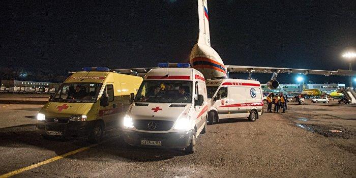 Тяжелобольные дети доставлены на лечение из Донбасса в Москву