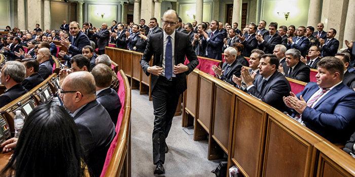 Бондаренко: Представители «Народного фронта» повели себя «по-дебильному»