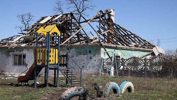 Силовики пытаются занять поселок Жабуньки под Донецком