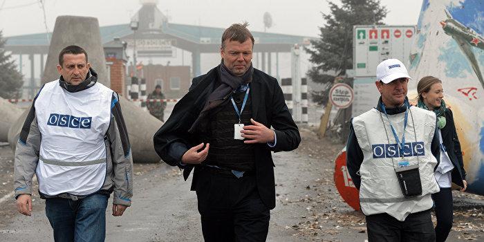 ОБСЕ: На видеоконференции обсуждали «разведение сторон» в Донбассе