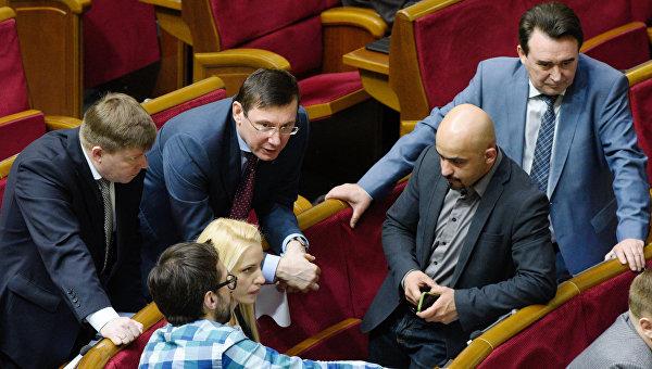 Почему «Оппозиционный блок» в Верховной Раде против своей оппозиционности