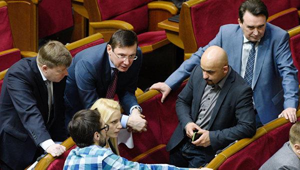 Семерых депутатов Верховной Рады могут лишить неприкосновенности