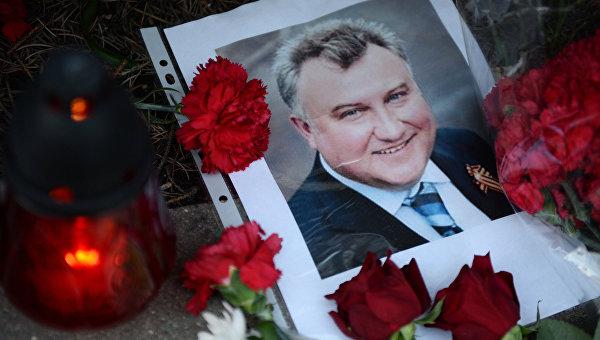 Турчинов пообещал максимально быстро раскрыть убийства Калашникова и Бузины