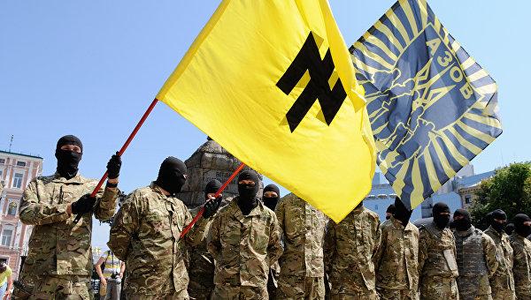 Die Zeit: Добровольческие батальоны стали опасны для Украины