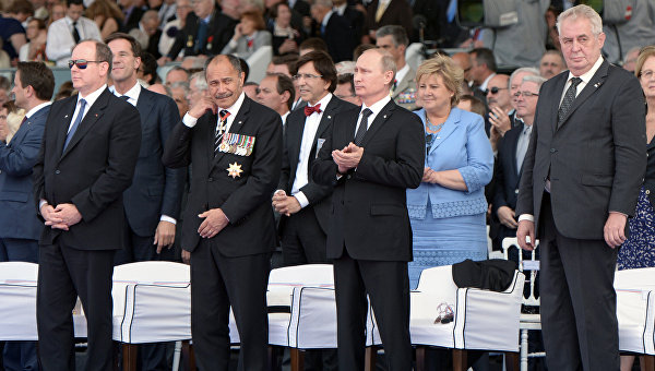 Президент Чехии Милош Земан: «Я еду в Москву поклониться памяти мертвых...»