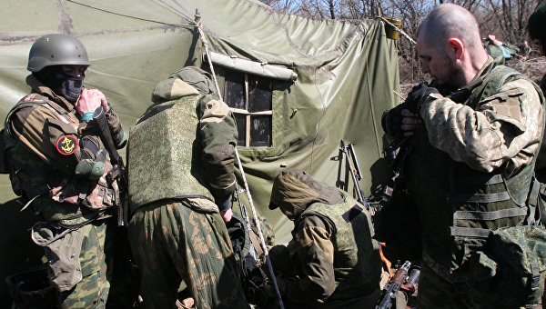 Басурин: ВСУ обратились к ДНР с просьбой открыть огонь по боевикам «Азова»