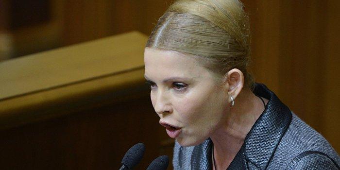 Тимошенко: Политика кабмина Яценюка является шоком без терапии