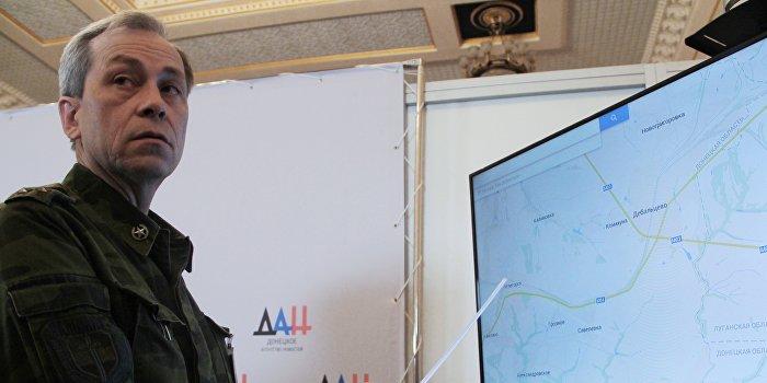 Басурин: Киевом сформировано 85 групп для диверсий в Донбассе