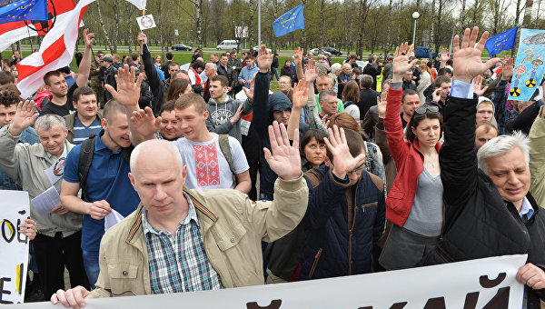 Минская оппозиция пытается дискредитировать Москву