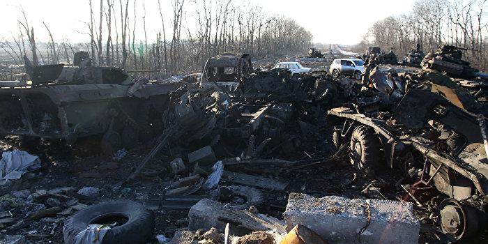 Захарченко: Под Иловайском ВСУ несколько дней КАМАЗами вывозили тела
