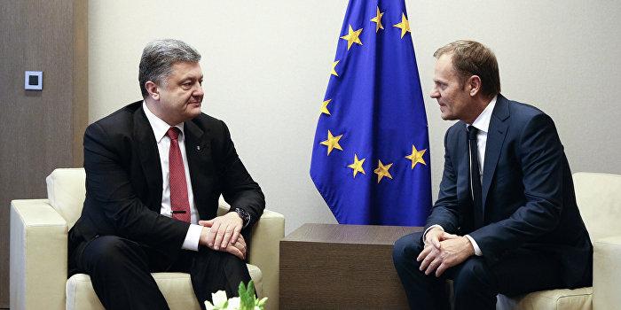 Туск: Отправка военной миссии на Украину невозможна