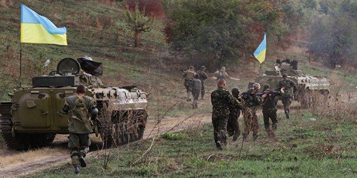 Киев признал психические расстройства у вернувшихся с «АТО» бойцов