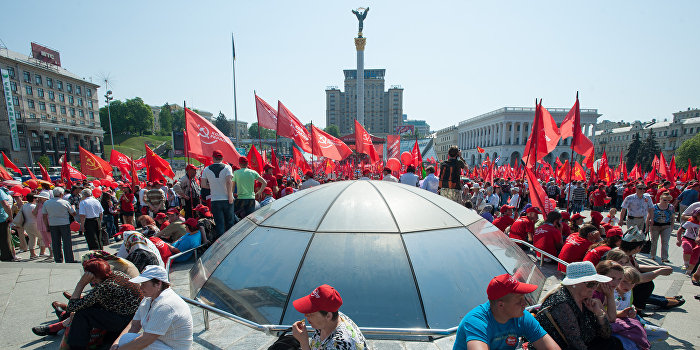 На майские праздники в Киеве запланированы шесть митингов