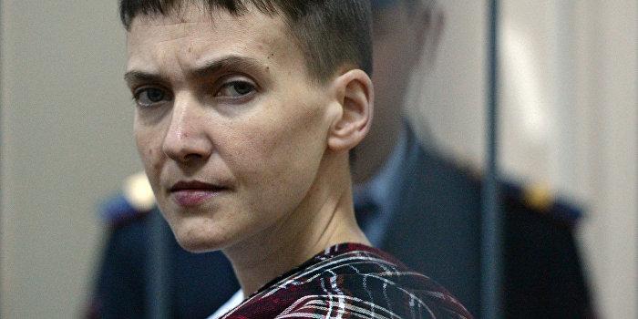 Савченко вернули из больницы в СИЗО, сочтя состояние здоровья удовлетворительным