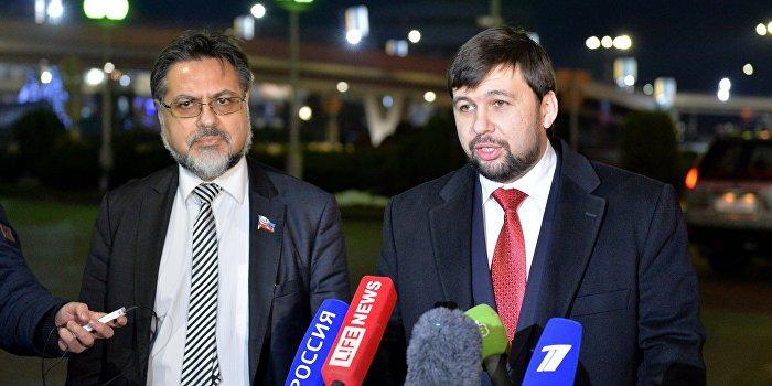 ДНР и ЛНР согласились на председательство ОБСЕ в рабочих подгруппах