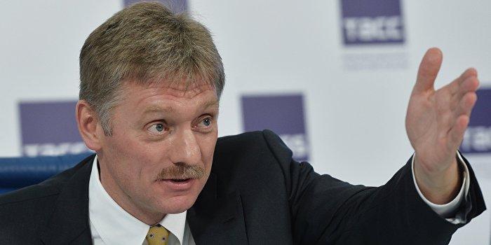 Песков опроверг сообщение на сайте президента Украины про ввод миротворцев в Донбасс