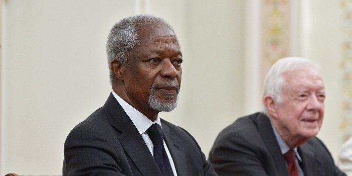 Кофи Аннан: Все пункты Минских соглашений должны быть выполнены